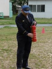 火災避難訓練③.JPG